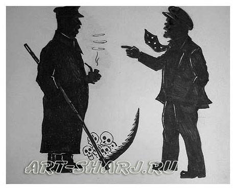 Рисунок ленин и крупская художник